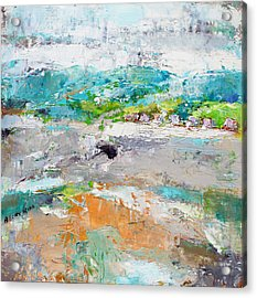 Thinking About Winter In Summer Time 2 Acrylic Print by Becky Kim
