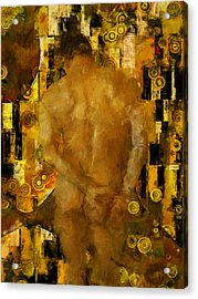 Thinking About You Acrylic Print by Kurt Van Wagner
