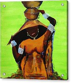 Thirsty Earth Acrylic Print by Shruti Prasad