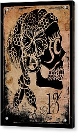 Thirteemth Gypsy Acrylic Print by Shayne of the  Dead