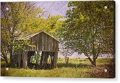 This Old Barn Acrylic Print by Joan Carroll