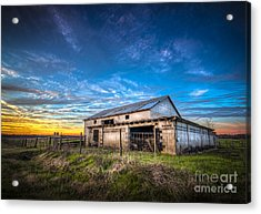 This Old Barn Acrylic Print by Marvin Spates