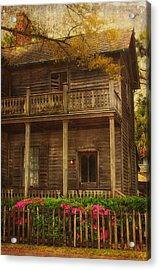 This Old House Acrylic Print by Kim Hojnacki