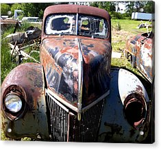 This Old Truck Acrylic Print by Gary Perron