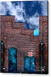 This Property Is Condemned Acrylic Print by Colleen Kammerer