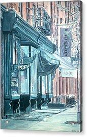 Thompson Street Acrylic Print by Anthony Butera