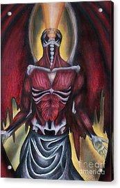 Thoth II  Acrylic Print by Coriander  Shea