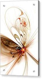 Thought Catcher Acrylic Print by Anastasiya Malakhova