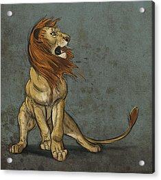 Threatened Acrylic Print by Aaron Blaise