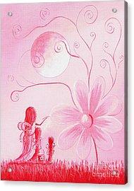 Pink Art Prints By Shawna Erback Acrylic Print by Shawna Erback