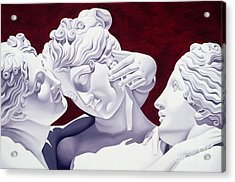 Three Graces Acrylic Print by Catherine Abel