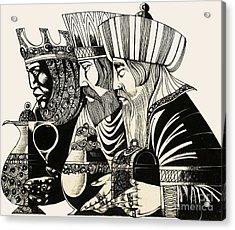 Three Kings Acrylic Print by Richard Hook