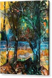 Three Sisters Acrylic Print by Patricia Allingham Carlson