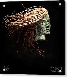 Thrill Acrylic Print by Adam Long