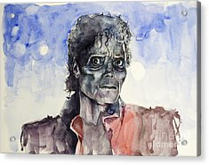 Thriller 2 Acrylic Print by Bekim Art