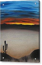 Thriving In The Desert Acrylic Print by Sayali Mahajan