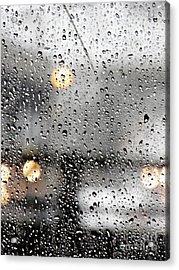 Through A Glass Darkly Acrylic Print by Sarah Loft