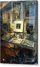Through An Artists Window Acrylic Print by Terri Waters