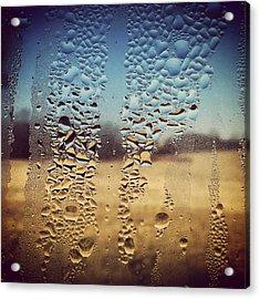 Through Glass 1 Acrylic Print by Natalie Lizza