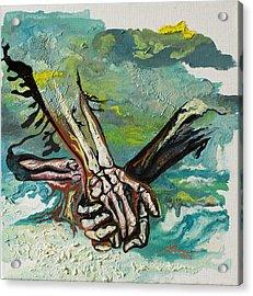 Through Storms Acrylic Print by Joseph Demaree