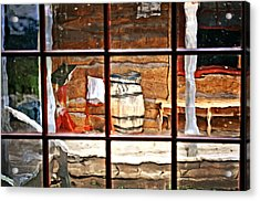 Through The Window Acrylic Print by Marty Koch