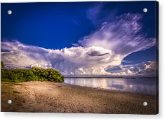 Thunder Head Coming Acrylic Print by Marvin Spates
