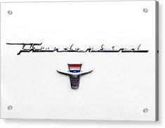 Thunderbird Tag Acrylic Print by Jerry Fornarotto