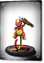 Thundercats 3000 - Snarf 2.0 Acrylic Print by Frederico Borges