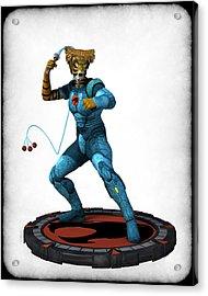 Thundercats 3000 - Tygra V2 Acrylic Print by Frederico Borges