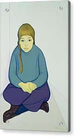 Tiana, 1969 Acrylic & Canvas On Board Acrylic Print by Antonio Ciccone