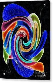 Tide Pool Acrylic Print by Shannan Peters