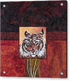 Tiger 2 Acrylic Print by Darice Machel McGuire