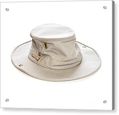 Tilley Hat Acrylic Print by Colin and Linda McKie