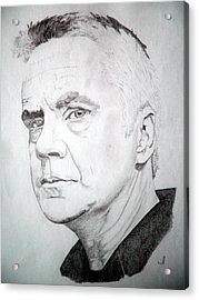 Tim Robbins Acrylic Print by Robert Lance