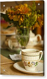 Time For Tea Acrylic Print by Andrew Soundarajan