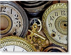 Time Long Gone Acrylic Print by Tom Gari Gallery-Three-Photography