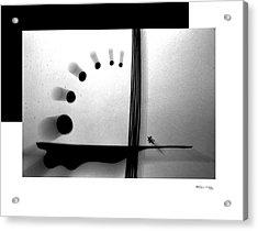 Time On A String Acrylic Print by Xoanxo Cespon