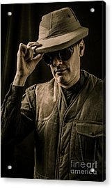 Time Traveler Acrylic Print by Edward Fielding