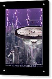 Time Travelers 2 Acrylic Print by Mike McGlothlen