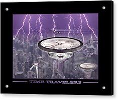 Time Travelers Acrylic Print by Mike McGlothlen