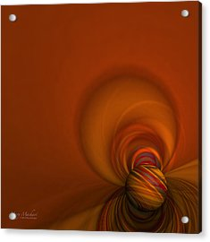Time Warp Acrylic Print by Mary Machare