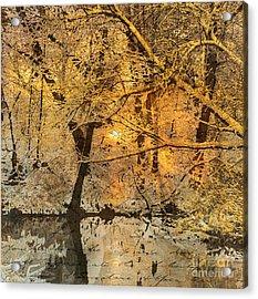 Time Acrylic Print by Yanni Theodorou