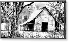 Timeless In Black And White Acrylic Print by Betty LaRue