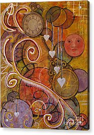 Timeless Love Acrylic Print by Jane Chesnut
