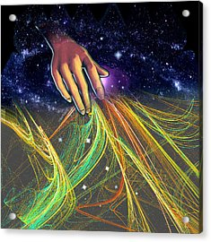 Times Tapestry Acrylic Print by Nate Owens