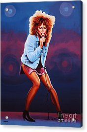 Tina Turner Acrylic Print by Paul Meijering