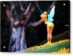 Tinkerbell Lands Acrylic Print by Jim Robinson