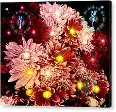 Tinkerbells Acrylic Print by Michael Rucker