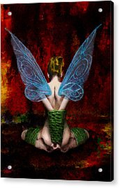 Tink's Fetish Acrylic Print by Christopher Lane