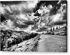 Tioga Pass Acrylic Print by Cat Connor